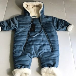 Fingers In The Nose Winteranzug blue Size 6-9